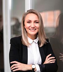 Vlada Gottselig die Marketing Leiterin bei INPOSIA.
