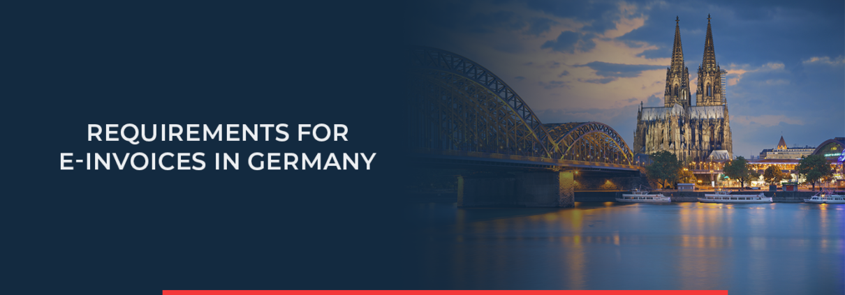 The e-bill in Germany will come into force from 27 November 2020. Is your company ready for the new legal requirements?
