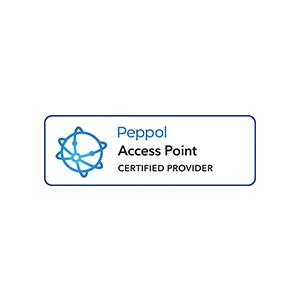 Wir sind ein Peppol Access Point.