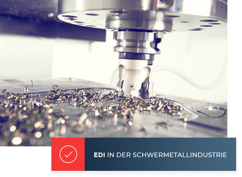 INPOSIA hat bereits erfolgreich EDI in der Schwermetallindustrie implementiert.