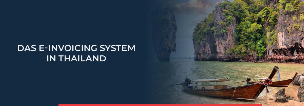 Elektronische Rechnungsstellung ist in Thailand bisher noch freiwillig