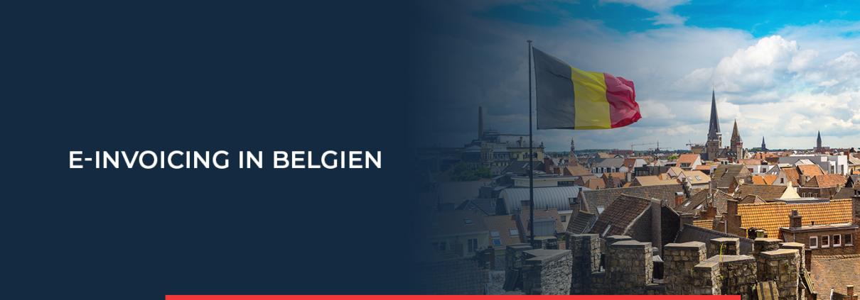 Der elektronische B2G-Rechnungsstellungsprozess wird in Belgien über die Mercurius-Plattform und PEPPOL abgewickelt