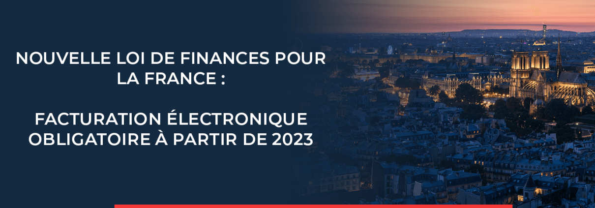 Facturation électronique obligatoire en France à partir de 2023