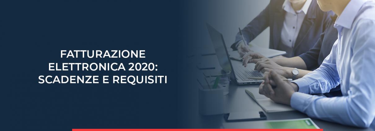 Scoprite nel nostro post sul blog quali sono le scadenze della fatturazione elettronica che l'anno 2020 ha in serbo per voi.
