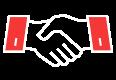 Wir sind der starke Partner vieler zufriedener Kunden.