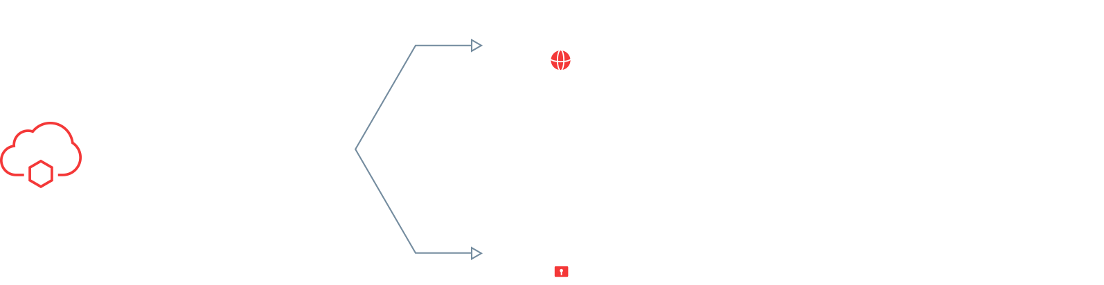Potete decidere voi stessi se volete aprire la strada alla trasformazione digitale nel cloud pubblico o privato.