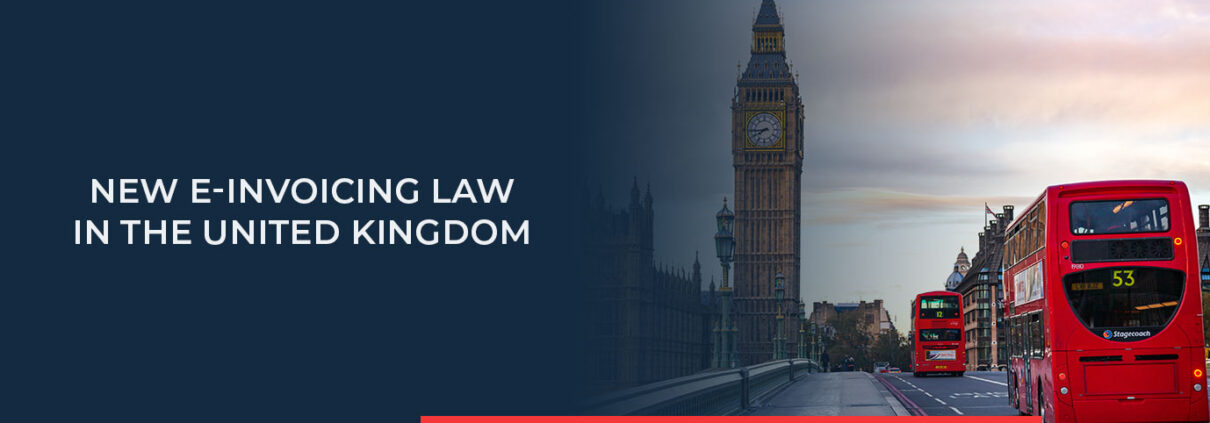 Find out about the new e-Invoicing law in the United Kingdom.
