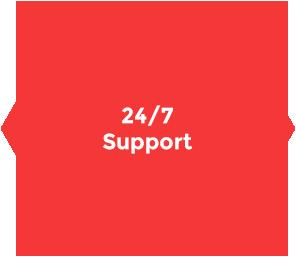 INPOSIA bietet einen internationalen 24/7 Support für seine Kunden an. Auch an Feiertagen.