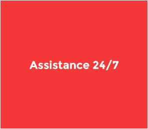 INPOSIA offre à ses clients une assistance internationale 24 heures sur 24 et 7 jours sur 7. Egalement pendant les vacances.