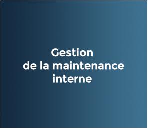 La gestion interne de la maintenance d'INPOSIA distingue notre système. Maintenance allemande.