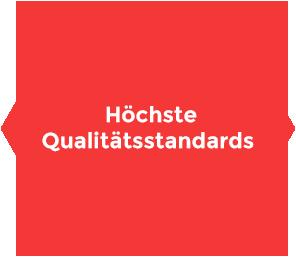 Wir bieten höchste Qualitätsstandarts für unsere Produkte und Lösungen. Wir sind ISO zertifiziert.
