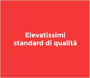 Offriamo i più alti standard di qualità per i nostri prodotti e soluzioni. Siamo certificati ISO.